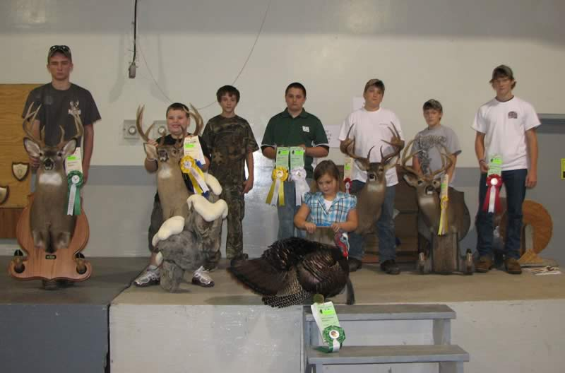 2011 Youth Winners - Western Region Big Game Trophy Show