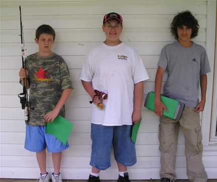 Fishing Day 2006 Class IV Winners